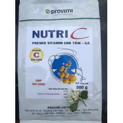 Nutri C - bổ sung vitamin C và E - cá cảnh- gói 500g