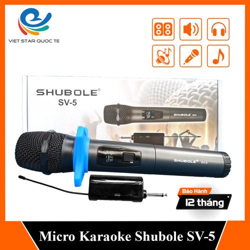 [ tạng 1 jack chuyển ] micro karaoke - micro không dây shubole sv-5 - đổi mới trong 07 ngày - bảo hành trọn bộ 12 tháng - chuyên dụng cho loa hoặc amply - 20233270 , 22331436 , 15_22331436 , 350000 , -tang-1-jack-chuyen-micro-karaoke-micro-khong-day-shubole-sv-5-doi-moi-trong-07-ngay-bao-hanh-tron-bo-12-thang-chuyen-dung-cho-loa-hoac-amply-15_22331436 , sendo.vn , [ tạng 1 jack chuyển ] micro karaoke -
