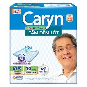 TẤM ĐỆM LÓT SIÊU THẤM CARYN 10 MIẾNG - CARYNLOT