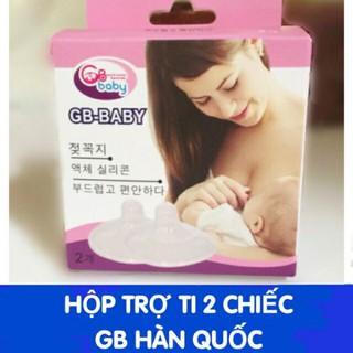 Hộp 02 cái trợ ti Mẹ GB BABY - hỗ trợ cho bé bú không BPA Free - TROTI05 thumbnail