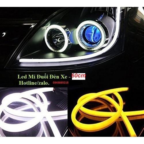 Bộ led dây độ mí mắt ngoài xe ô tô 2 in 1 60cm chạy đuổi - 17797842 , 22331204 , 15_22331204 , 439000 , Bo-led-day-do-mi-mat-ngoai-xe-o-to-2-in-1-60cm-chay-duoi-15_22331204 , sendo.vn , Bộ led dây độ mí mắt ngoài xe ô tô 2 in 1 60cm chạy đuổi