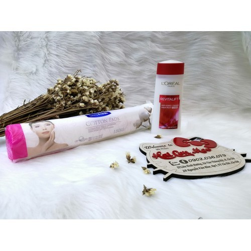 Combo bông tẩy trang và nước hoa hồng chống lão hóa loreal 200ml - 17823285 , 22365236 , 15_22365236 , 250000 , Combo-bong-tay-trang-va-nuoc-hoa-hong-chong-lao-hoa-loreal-200ml-15_22365236 , sendo.vn , Combo bông tẩy trang và nước hoa hồng chống lão hóa loreal 200ml