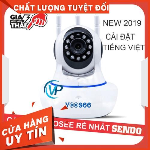Camera wifi yoosee 3 râu thế hệ mới năm 2019 - tặng thẻ nhớ 32gb - bảo hành 12 tháng