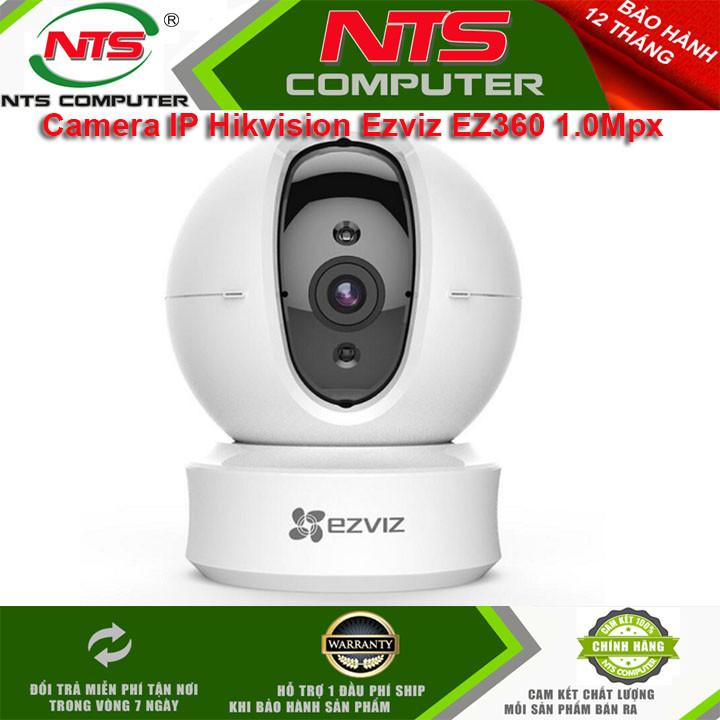 Camera IP Wifi Hikvision Ezviz C6CN chính hãng