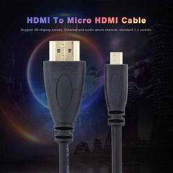 Dây HDMI -HDMI micro kết nối máy quay máy ảnh với tivi máy tính