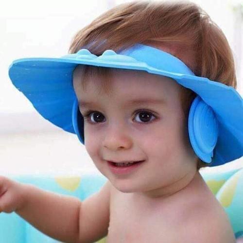 Mũ gội đầu cho bé