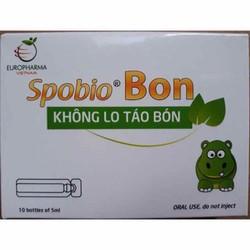 Spobio Bon hỗ trợ hệ tiêu hoá - không lo táo bón