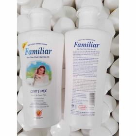 Sữa tắm trắng da Familiar Tinh chất sữa dê chai 250ml - family 250