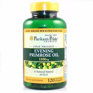 Nội tiết tố nữ từ tinh dầu hoa anh thảo .Evening Primrose Oil 1300 mg with GLA. của Puritan Pride - 3233 thumbnail