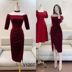 Váy thiết kế cao cấp v1207