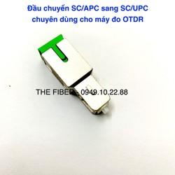 Đầu Chuyển Đổi SC APC Sang SC UPC Chuyên Dùng Cho Máy OTDR