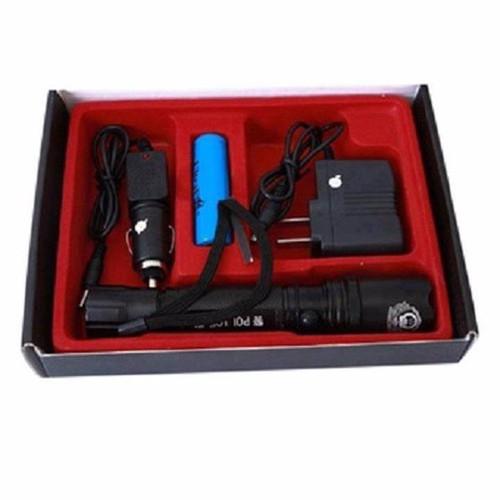 Bộ đèn pin đa năng 3 chế độ có la bàn vn mochi04