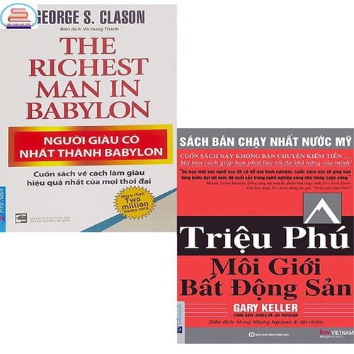 Combo 2 cuốn người giàu có nhất thành babylon+ triệu phú môi giới bất động sản - 17830639 , 22376501 , 15_22376501 , 308000 , Combo-2-cuon-nguoi-giau-co-nhat-thanh-babylon-trieu-phu-moi-gioi-bat-dong-san-15_22376501 , sendo.vn , Combo 2 cuốn người giàu có nhất thành babylon+ triệu phú môi giới bất động sản