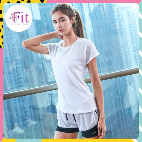 Mã wa2810 giảm 10k đơn 99k set bộ quần áo thể thao nữ slam 3 màu đồ tập gym yoga