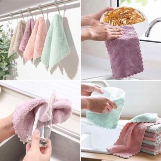 [GIẢM 10K PHÍ VC]Bộ 15 khăn lau siêu thấm- Khăn lau 2 mặt- thấm nước khô nhanh-Không rụng bông - khanlaudanang thumbnail