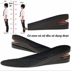 Lót giày tăng chiều cao- lót giày độn đế cao 5phân