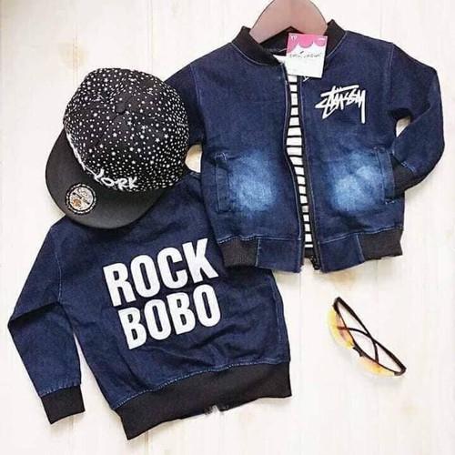[Giá hủy diệt] áo khoác bò chất đẹp cho bé mẫu rock - 19199705 , 22379364 , 15_22379364 , 119000 , Gia-huy-diet-ao-khoac-bo-chat-dep-cho-be-mau-rock-15_22379364 , sendo.vn , [Giá hủy diệt] áo khoác bò chất đẹp cho bé mẫu rock