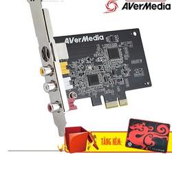 Card Chuyển Đổi PCI Ex sang AV, S-Video AVERMEDIA C725 Tặng Kèm Tấm Pad Chuột Cao Cấp.