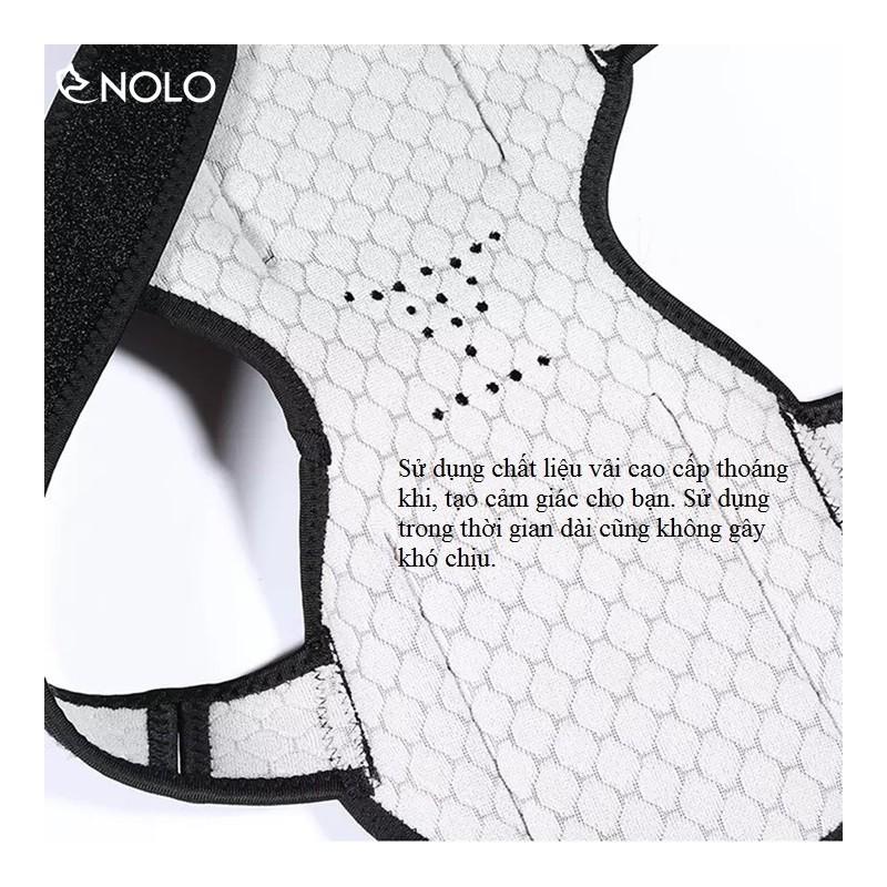 Bộ 2 Đai Ổn Định Hỗ Trợ Lực Đùi, Khớp Gối Tăng Sức Bật Chất Liệu Vải Thoáng Mát – bo2daihotrodaugoi