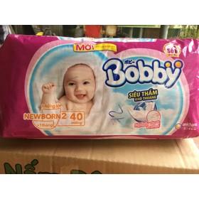 MIẾNG LÓT BOBBY NEWBORN 2 40 miếng - newborn2