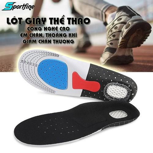 Lót giày thể thao êm chân thoáng khí lót giày tăng chiều cao công nghệ cao 2w