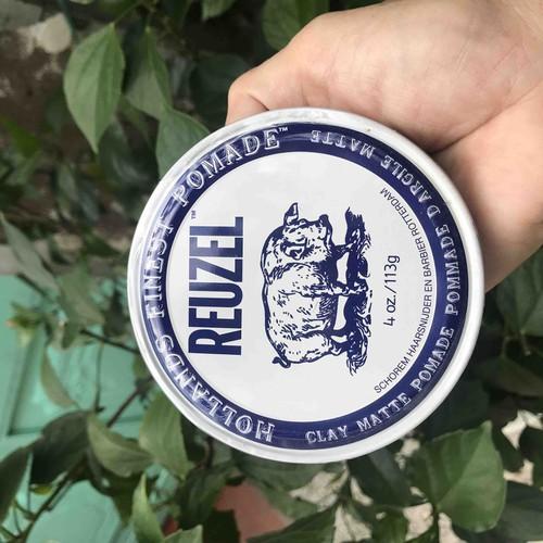 Sáp vuốt tóc nam chính hãng reuzel clay matte pomade 113g - 17832863 , 22379234 , 15_22379234 , 439000 , Sap-vuot-toc-nam-chinh-hang-reuzel-clay-matte-pomade-113g-15_22379234 , sendo.vn , Sáp vuốt tóc nam chính hãng reuzel clay matte pomade 113g