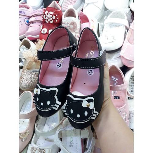Giày búp bê hình mèo bé gái