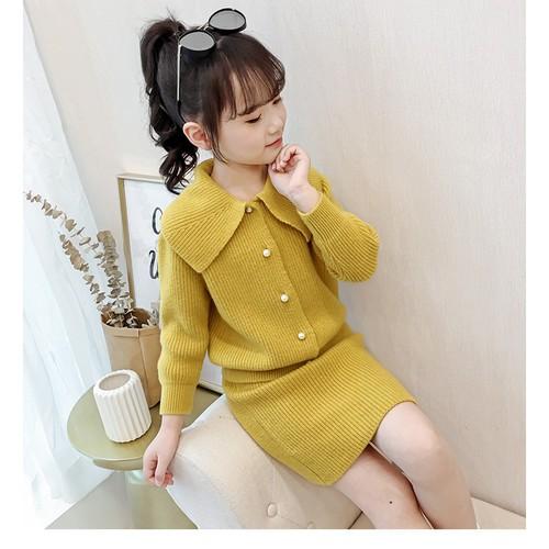 Sét áo + chân váy len thời trang mùa đông xinh xắn cho bé gái - 17866817 , 22422830 , 15_22422830 , 860000 , Set-ao-chan-vay-len-thoi-trang-mua-dong-xinh-xan-cho-be-gai-15_22422830 , sendo.vn , Sét áo + chân váy len thời trang mùa đông xinh xắn cho bé gái