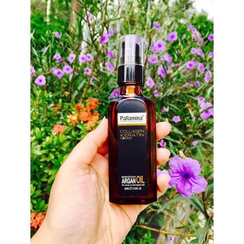 Tinh dầu dưỡng tóc  collagen keratin 60ml