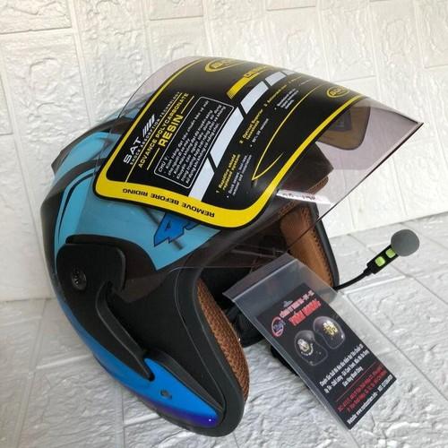 Nón bảo hiểm phượt có gắn tai nghe bluetooth - kính bopa cao cấp - 17854227 , 22406719 , 15_22406719 , 1200000 , Non-bao-hiem-phuot-co-gan-tai-nghe-bluetooth-kinh-bopa-cao-cap-15_22406719 , sendo.vn , Nón bảo hiểm phượt có gắn tai nghe bluetooth - kính bopa cao cấp