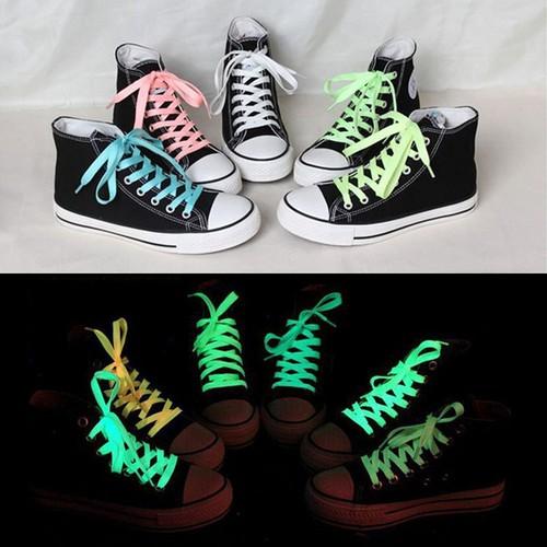 1 dây buộc giày thể thao dạ quang sáng tạo mã sp zi8868