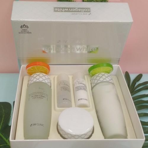 Bộ chăm sóc dưỡng ẩm làm trăng sáng da mĩ mỹ phẩm hàn quốc chính hãng 3w clinic collagen white skin care item 3 set - 17853062 , 22405245 , 15_22405245 , 1096000 , Bo-cham-soc-duong-am-lam-trang-sang-da-mi-my-pham-han-quoc-chinh-hang-3w-clinic-collagen-white-skin-care-item-3-set-15_22405245 , sendo.vn , Bộ chăm sóc dưỡng ẩm làm trăng sáng da mĩ mỹ phẩm hàn quốc chín