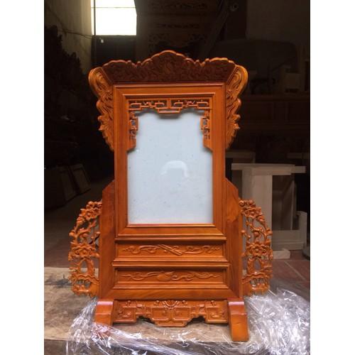 Khung ảnh thờ gỗ mít 20x30cm