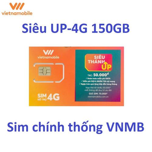 Sim 4g vietnamobile siêu thánh sim up có 5gb tốc độ cao 1 ngày + tặng sẵn 50.000đ + nghe gọi và nhắn tin nội mạng miễn phí