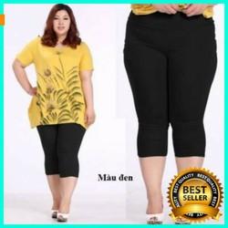 Quần lửng LEGGING BIG SIZE nữ size từ 47 đến 85 kg