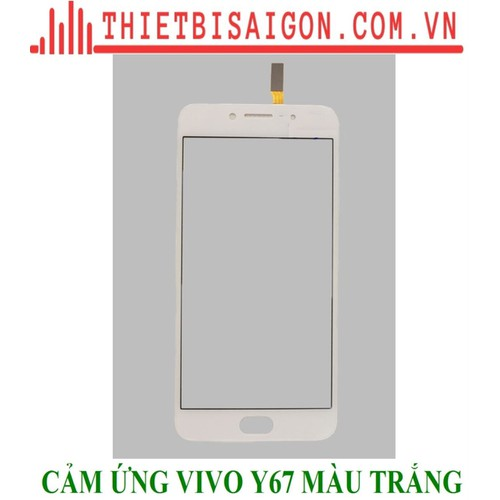 Kính cảm ứng vivo y67 màu trắng