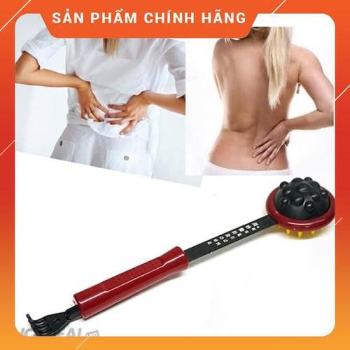 Freeship gậy đấm gãi massage lưng cao cấp buttanghinh