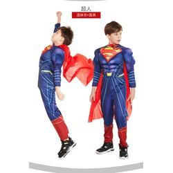 Trang Phục Super Man - Trang Phục Siêu Nhân