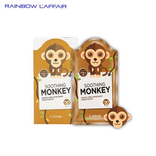 Mặt nạ chống lão hóa - ngừa mụn - săn chắc da rainbow laffair soothing monkey mask 10 miếng x 25ml - 17862777 , 22417543 , 15_22417543 , 600000 , Mat-na-chong-lao-hoa-ngua-mun-san-chac-da-rainbow-laffair-soothing-monkey-mask-10-mieng-x-25ml-15_22417543 , sendo.vn , Mặt nạ chống lão hóa - ngừa mụn - săn chắc da rainbow laffair soothing monkey mask 10