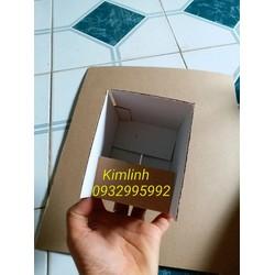 hộp size 10x8x8 màu vàng 50 hộp