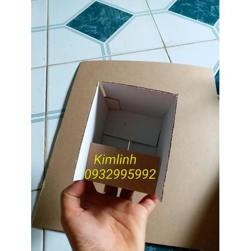 Hộp size 10x8x5 - 150 hộp carton màu vàng