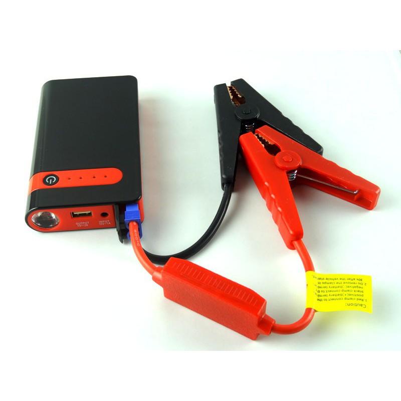 Kích nổ ắc quy ô tô khẩn cấp Kiêm Sạc dự phòng cho thiết bị di động Sac Bình Ắc quy Tự Ngắt Khi Đầy Kích kiêm sạc đa năng Đèn chiếu sáng – Labaha – OTO0001.1