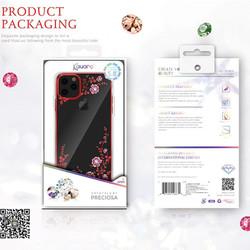 Ốp lưng đính đá iPhone 11 Pro- Pro Max KAVARO cực đẹp