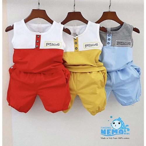Sét 3 bộ đồ cho bé trai,đồ bộ trẻ em từ 8 đến 26kg phối đáng yêu,vải cotton 4 chiều - 17915010 , 22440838 , 15_22440838 , 240000 , Set-3-bo-do-cho-be-traido-bo-tre-em-tu-8-den-26kg-phoi-dang-yeuvai-cotton-4-chieu-15_22440838 , sendo.vn , Sét 3 bộ đồ cho bé trai,đồ bộ trẻ em từ 8 đến 26kg phối đáng yêu,vải cotton 4 chiều