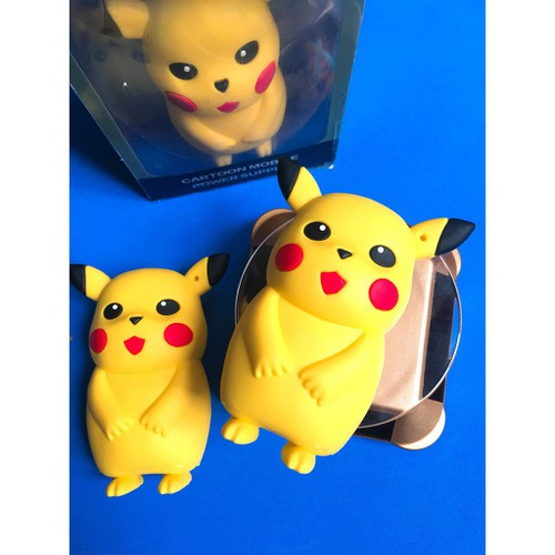 Sạc dự phòng pikachu mã t335 mic