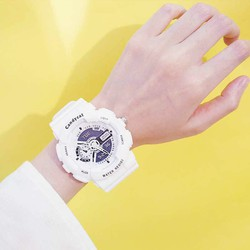 Đồng hồ thời trang nam nữ Candycat mẫu chạy kim giả điện tử S91