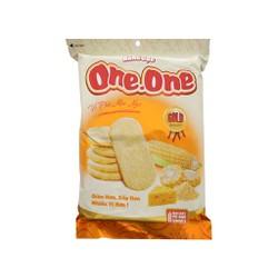 Bánh gạo ngọt vị phô mai ngô  One One gói 118g