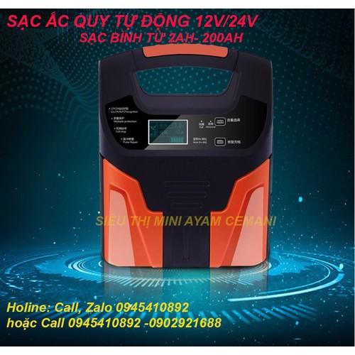 Sạc acquy tự động 12-24v -hiển thị lcd- có khử sunfat - 17916121 , 22442819 , 15_22442819 , 459000 , Sac-acquy-tu-dong-12-24v-hien-thi-lcd-co-khu-sunfat-15_22442819 , sendo.vn , Sạc acquy tự động 12-24v -hiển thị lcd- có khử sunfat