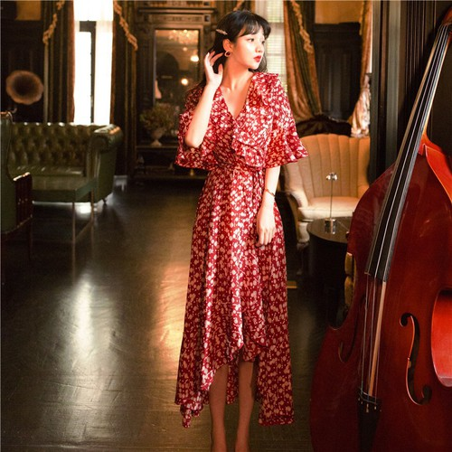 Đầm đuôi tôm họa tiết dễ thương thời trang cao cấp - 19543477 , 22462284 , 15_22462284 , 830000 , Dam-duoi-tom-hoa-tiet-de-thuong-thoi-trang-cao-cap-15_22462284 , sendo.vn , Đầm đuôi tôm họa tiết dễ thương thời trang cao cấp