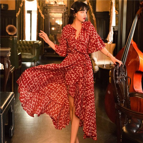 Đầm đuôi tôm họa tiết dễ thương thời trang cao cấp - 19543230 , 22461878 , 15_22461878 , 830000 , Dam-duoi-tom-hoa-tiet-de-thuong-thoi-trang-cao-cap-15_22461878 , sendo.vn , Đầm đuôi tôm họa tiết dễ thương thời trang cao cấp